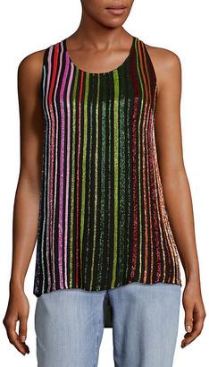Balmain Silk Sleeveless Top