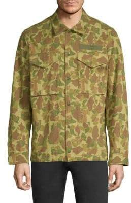 Rag & Bone Camouflage Flight Shirt Jacket