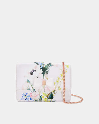 Ted Baker SHIRLYY Printed bow evening bag