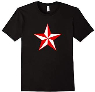 Red White Lone Star T-shirt