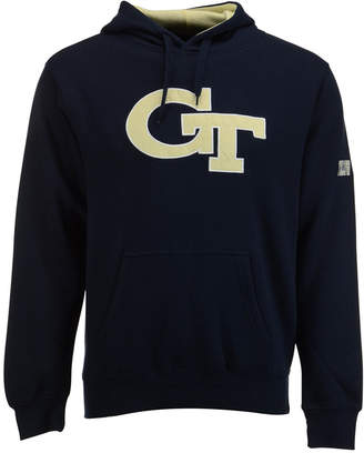 Colosseum Men's Georgia Tech Yellow Jackets Big Logo Hoodie