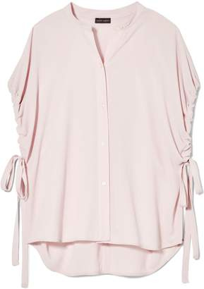 Vince Camuto Ruched-sleeve Blouse