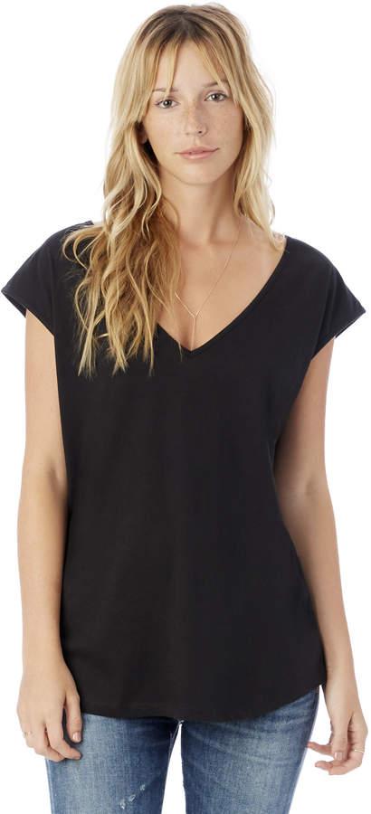 Flirt Satin Jersey T-Shirt