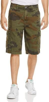True Religion Camo Print Regular Fit Cargo Shorts $179 thestylecure.com