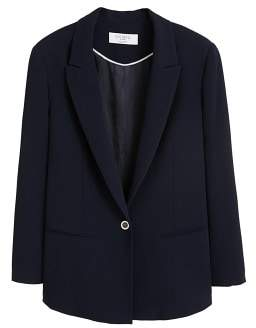 Violeta BY MANGO Classic-fit suit blazer