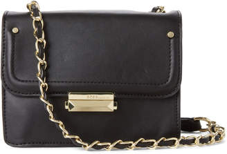 BCBGeneration Black Sydney Chain Crossbody