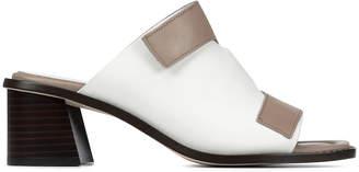 Donald J Pliner AMALIA, Colorblock Leather Heeled Sandal