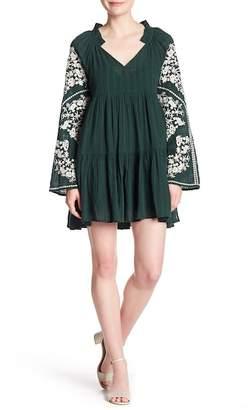 Free People Emerald City Mini Dress