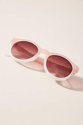 Anthropologie Odette Rounded Sunglasses