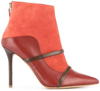 Malone Souliers panelled ankle booties
