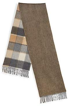 Saks Fifth Avenue Men's COLLECTION Double-Faced Merino Wool& Cashmere Scarf