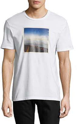 Calvin Klein Jeans Road Trip Crew Neck T-Shirt