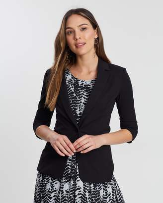 Privilege Long Sleeve Tailored Cut Blazer