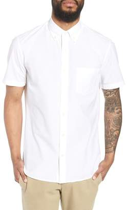 Vince Slim Fit Solid Short Sleeve Sport Shirt