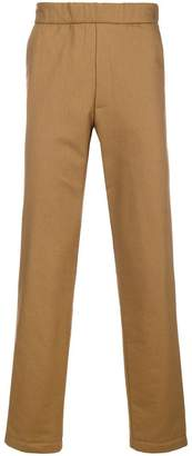 Chalayan elastic waist trousers