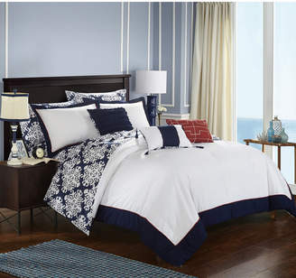 Chic Home Tania 10-Pc Queen Comforter Set Bedding