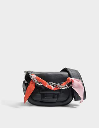 Pierre Hardy Alphaville Mini Bag in Black Silver Calfskin