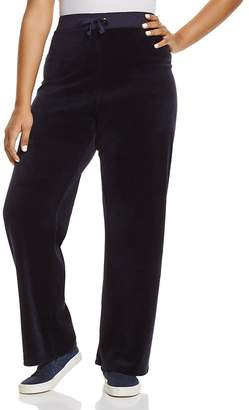 Juicy Couture Black Label Original Flare Velour Pants - 100% Exclusive
