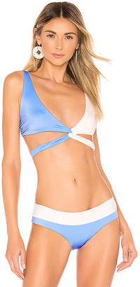 Tori Praver Swimwear Joy Wrap Top