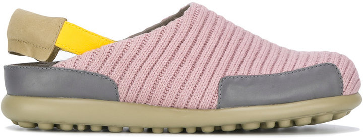CamperCamper ribbed detail trainers