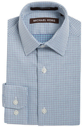 MICHAEL Michael KorsKors Michael Kors Boys 2-7 Boys Patterned Dress Shirt