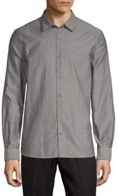 John Varvatos Casual Cotton Button-Down Shirt