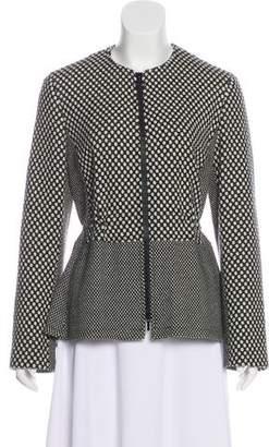 Akris Punto Wool Knit Jacket
