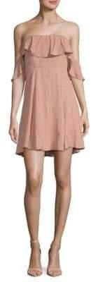 ASTR the Label Sabina Off-The-Shoulder Dress