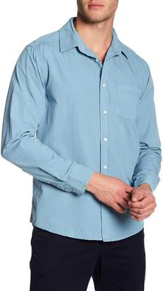 Velvet by Graham & Spencer Long Sleeve Classic Fit Woven Shirt