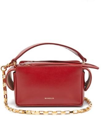 Wandler Yara Mini Smooth Leather Cross Body Bag - Womens - Red