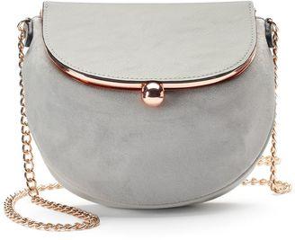 LC Lauren Conrad Lili Frame Flap Crossbody Bag $49 thestylecure.com