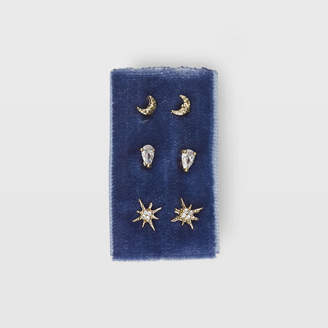 Ser Star Stud Card Earring