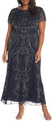 176f956983198 Pisarro Nights Blue Plus Size Dresses - ShopStyle