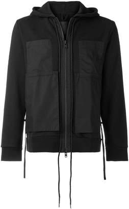 Craig Green patch detail hoodie