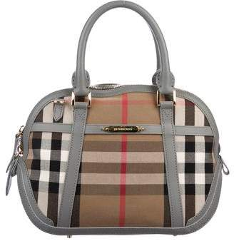 Burberry House Check Small Orchard Bowling Bag