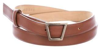 Akris Leather Waist Belt