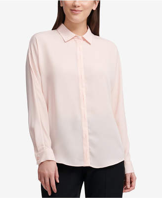 DKNY Button-Front Shirt, Created for Macy's