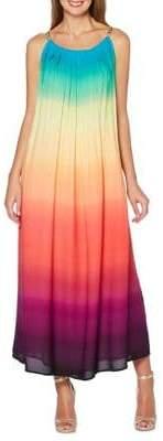 Rafaella Petite Ombre A-Line Maxi Dress