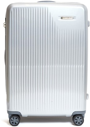 Briggs & Riley Sympatico medium expandable spinner limited edition suitcase Silver