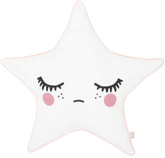 Nubie Modern Kids Boutique Sleepy Doll Star Pillow