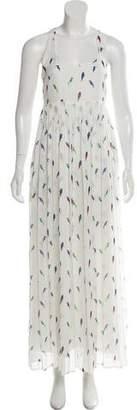 Rebecca Minkoff Pleated Maxi Dress