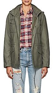Alpha Industries WOMEN'S M-65 DEFENDER COTTON FIELD JACKET-OLIVE SIZE S