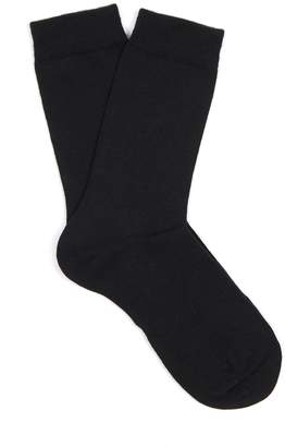 Falke Soft wool and cotton-blend socks