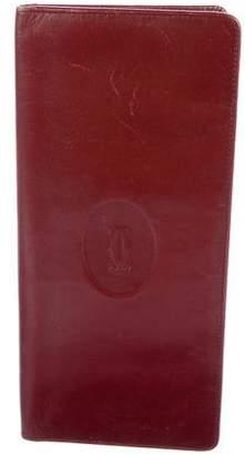 Cartier Bi-Fold Leather Wallet