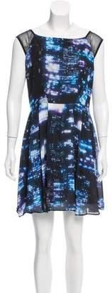 Milly Pleated Mini Dress