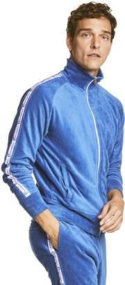Todd Snyder + Champion Terry Track Jacket in Regent Blue