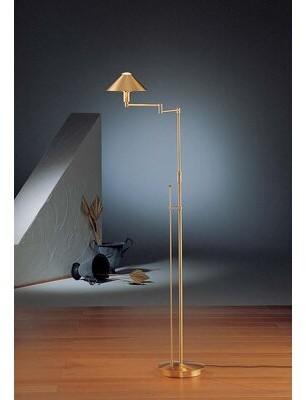 """Holtkötter Lighting for the Aging Eye 60"""" Swing Arm Floor Lamp Holtkötter"""