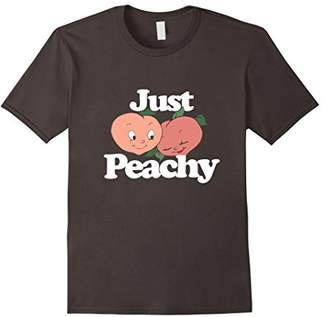 Just Peachy shirt vintage peaches t-shirt retro peach shirts