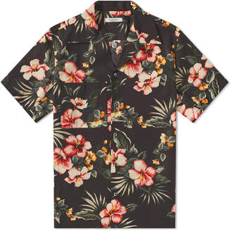 Valentino Floral Print Vacation Shirt