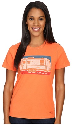 Life is good Explore Airstream Crusher Tee $26 thestylecure.com